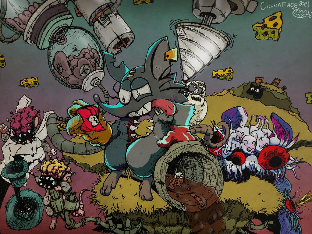revenge (colored commission)