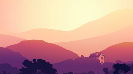 Home in the mountains by Bimep