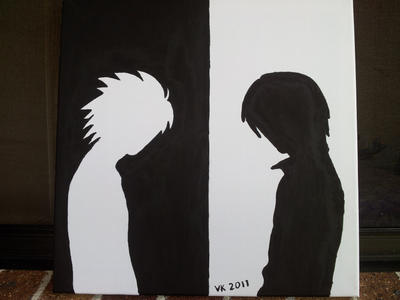 Death note canvas by vampireknight2011