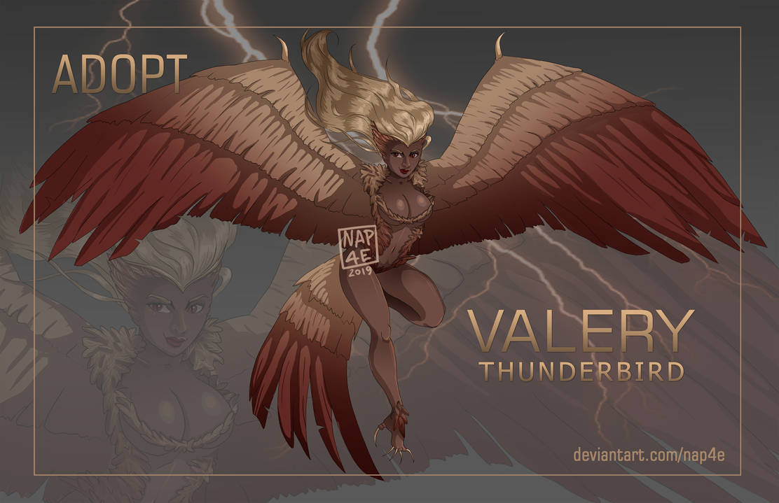 HARPY adopt AUCTION (CLOSED) by NAP4E
