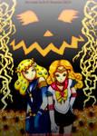 Sailor Sun And Globulus 80 pumkin battle