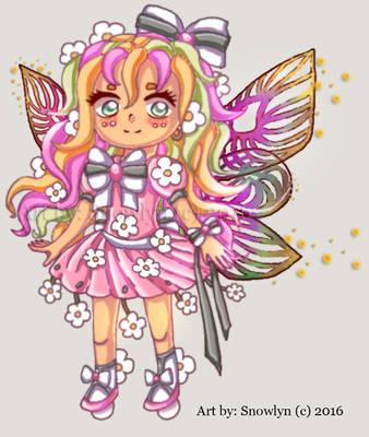 Flower Fairy Lighter version Adopt OPEN by Snowlyn