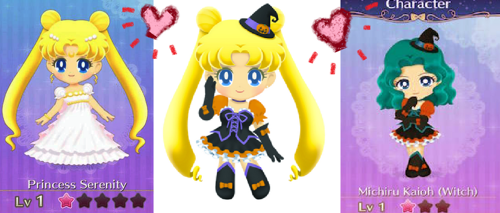 For twitter Sailor moon drop game USING by Snowlyn