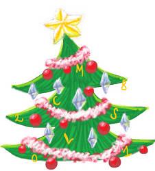 Christmas Tree  2018 by Snowlyn