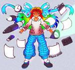 My Artist Avatar Challenge Entry Rain Color by Snowlyn