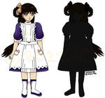 Snowlyns-Shadow-House-Fan-character Hitori Shinja by Snowlyn