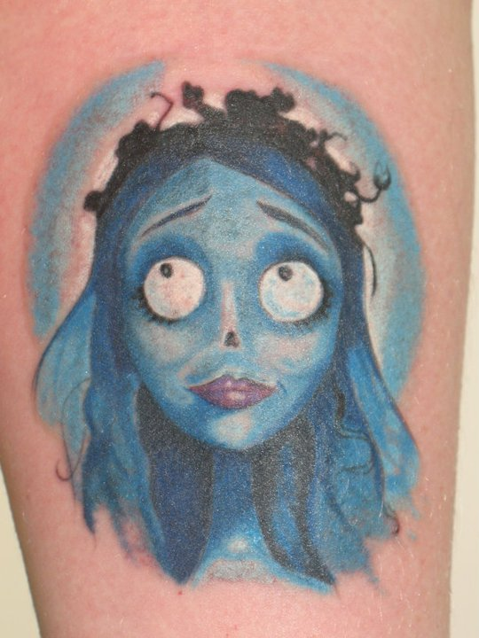 corpse bride tattoo by Unicornmistress