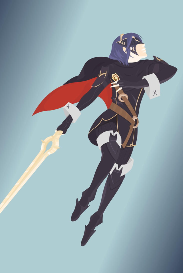 Fire Emblem Awakening: Lucina [vector] by flash-and-blood