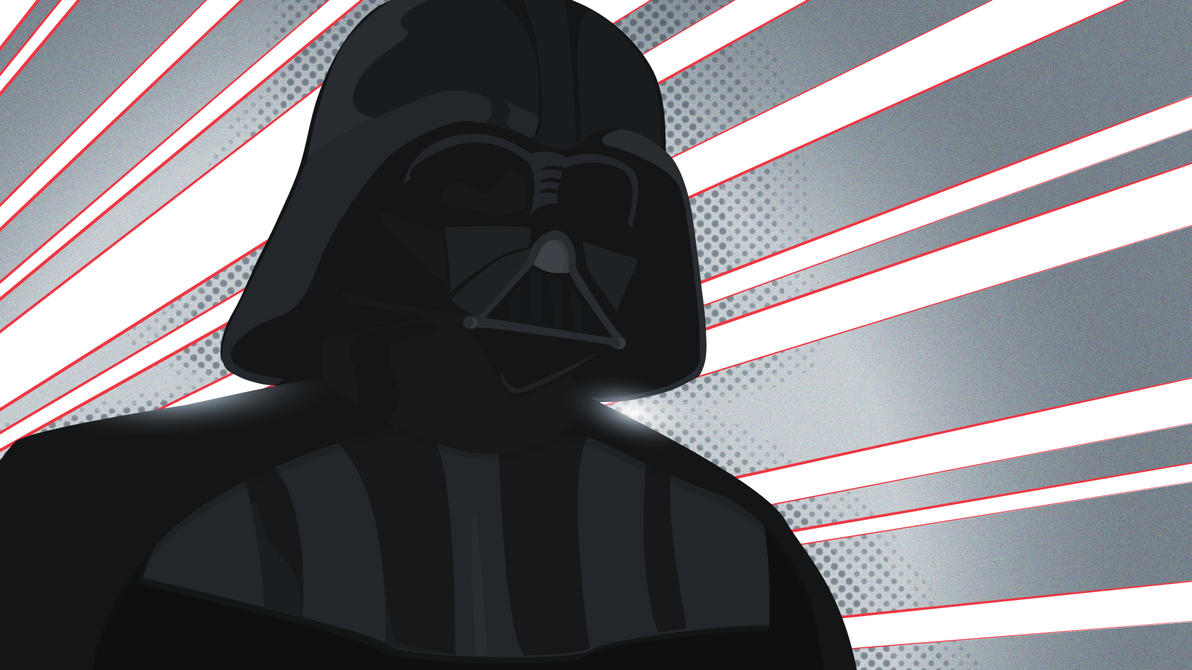 Darth Vader [vector] by flash-and-blood
