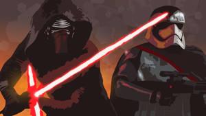 SW The Force Awakens bad guys [vector]