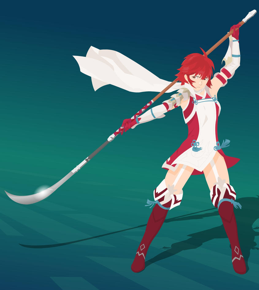 Hinoka vector (Fire Emblem Fates) by flash-and-blood