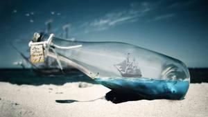 Ship in bottle V1 UPDATED