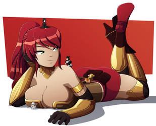 Giantess Pyrrha