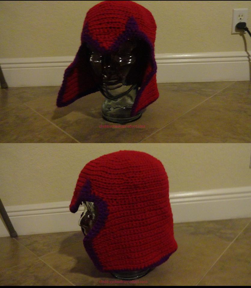 Magneto Helmet by zigzagcrazy