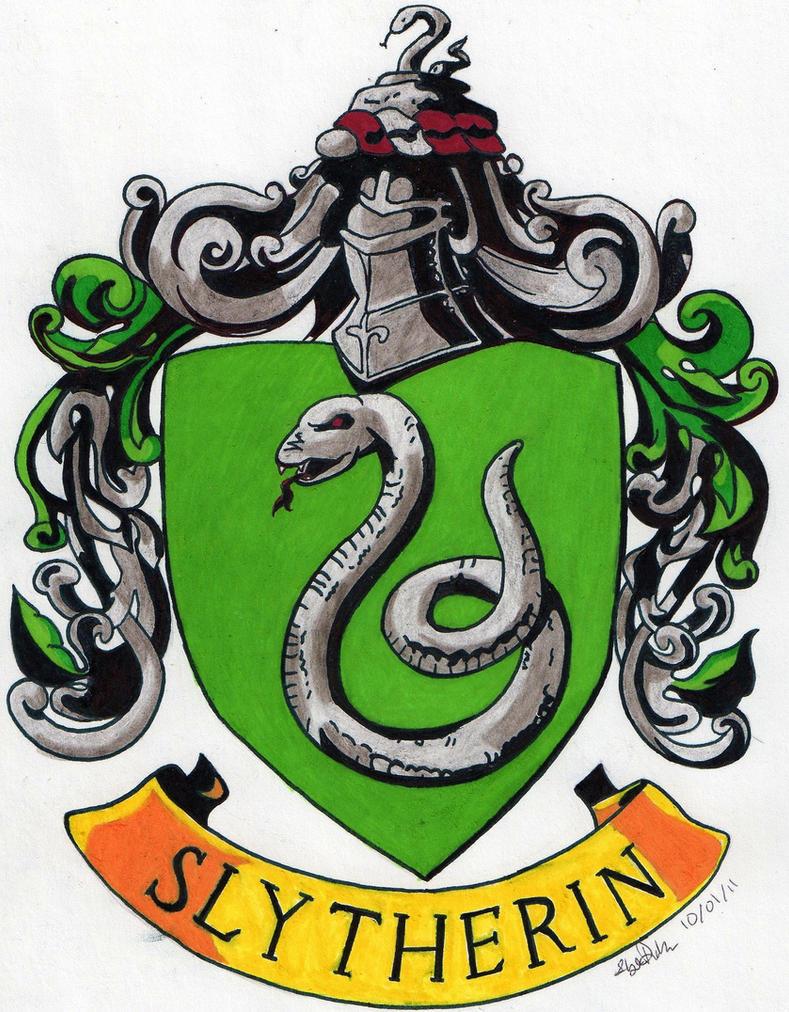 Slytherin crest by tuliipiie on deviantart - Gryffindor crest high resolution ...