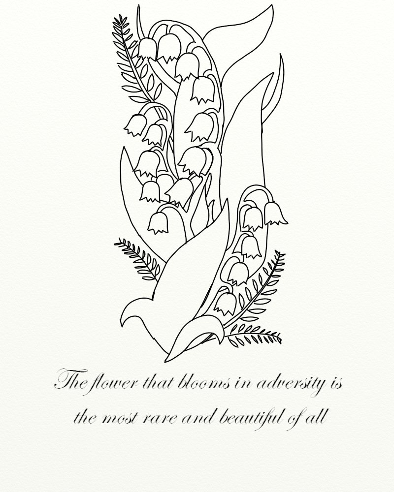 Valley the lily sketch of tattoo Lily Tattoo