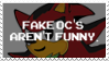 Anti Fake OC's Stamp by Sammi-Arts
