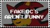 Anti Fake OC's Stamp by Sammi-Arts