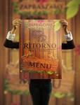 Ritorno - menu flyer