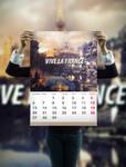 Vive la France -part of calendar