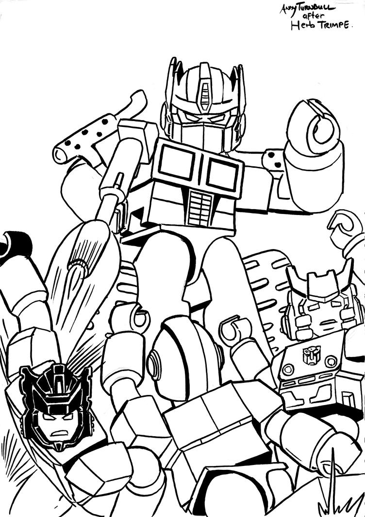 kreo transformers 12 lineart by andyturnbull on deviantart