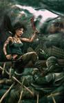 Lara attack! by FizikArt