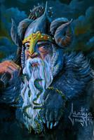 Veles - god of the Underworld by FizikArt