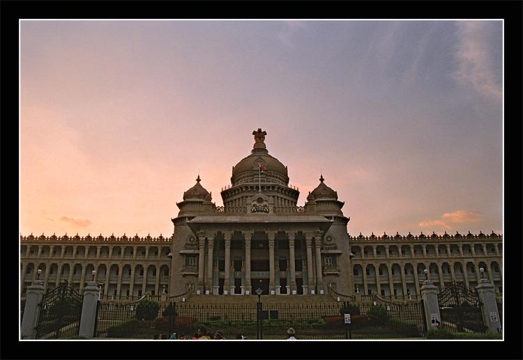 Vidhan Saudha Karnataka by SoFtDudE