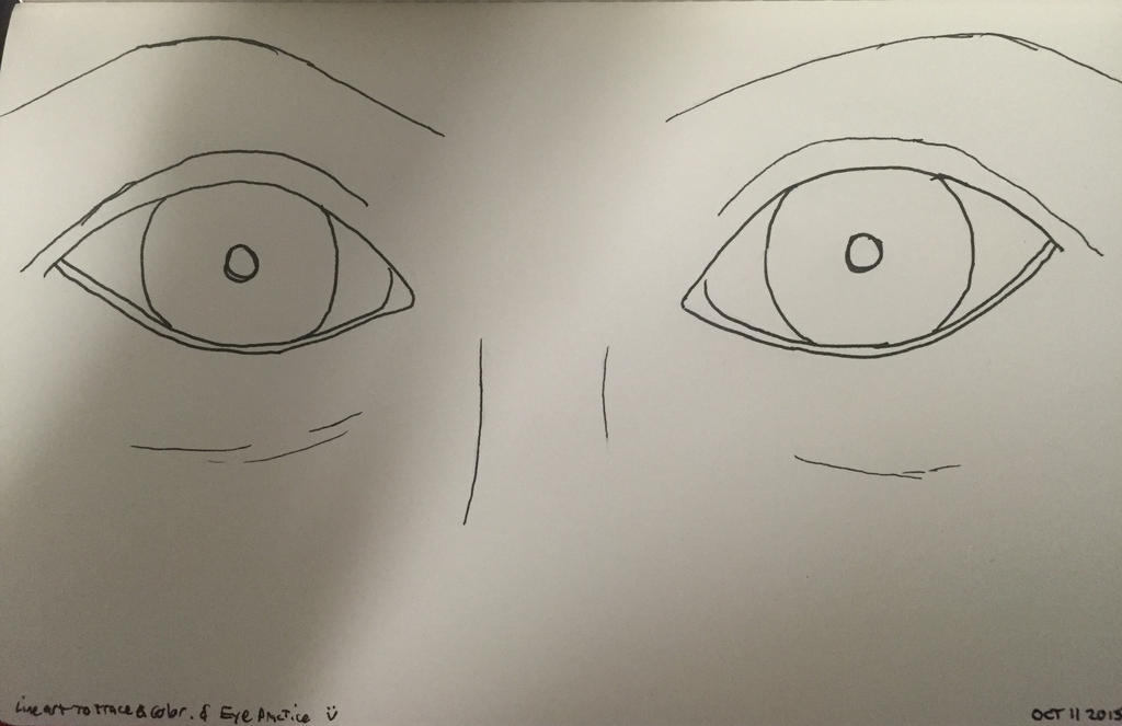 Line Art Eyes : Line art eyes by model on deviantart