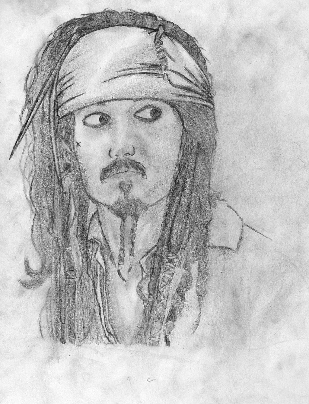 Jack sparrow(Drawing) by Frostzone1229 on DeviantArt