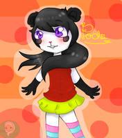 Gift - Pochii the panda by neko-kumicho-chan