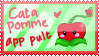 Gift - cata pomme app pult stamp by neko-kumicho-chan
