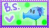 My OC - Blueberry shooter stamp by neko-kumicho-chan