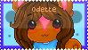 Gift - odette stamp by neko-kumicho-chan