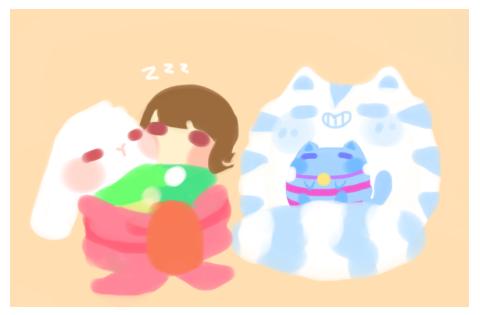 Choco Mochi And Friskies by neko-kumicho-chan