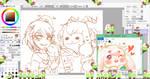 SHIMEJI - Asriel and chara Shimeji