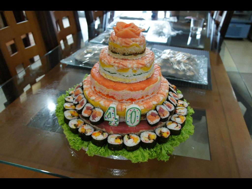 5 Layer Sushi Cake