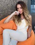 So comfortable on orange Beanie-Elena-34n