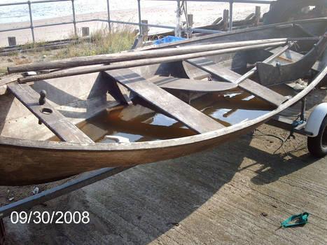 Sheringham-Norfolk-UK...Boat On Trailer