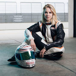 Laura Kraihamer - Austrian Racing Car Driver-01