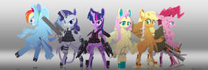Android Mane Six