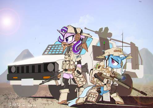 Friendship problem resolve troops
