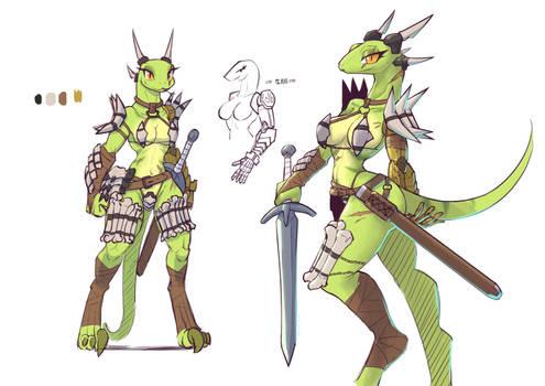 Fantasy costume Sylvaner