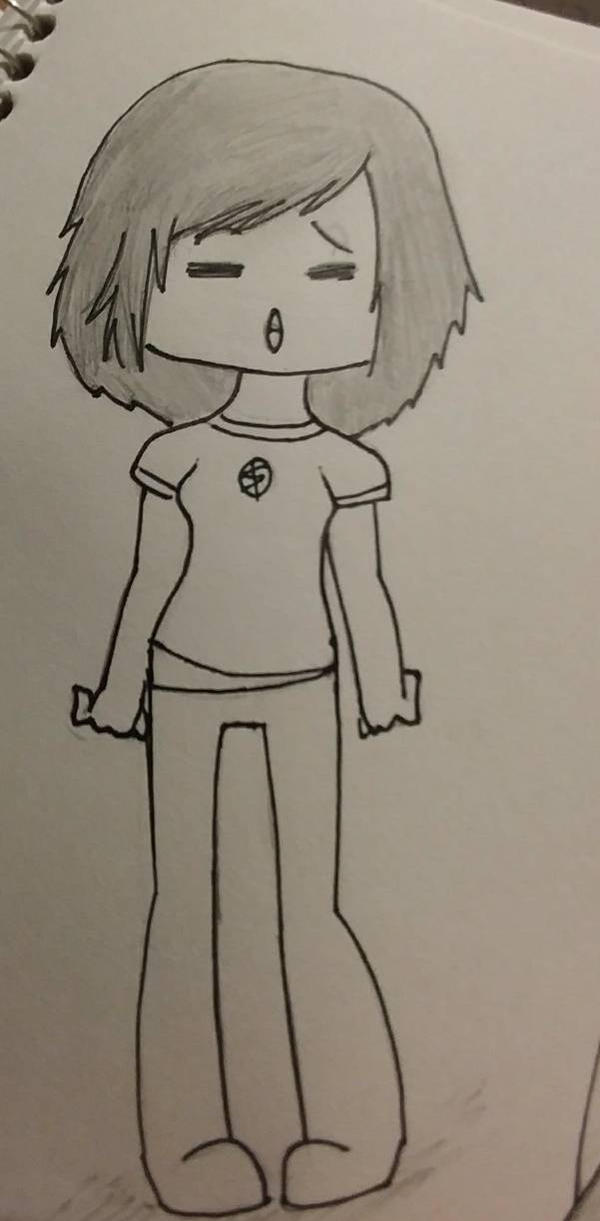 How I used to draw myself by RandomPaperWork