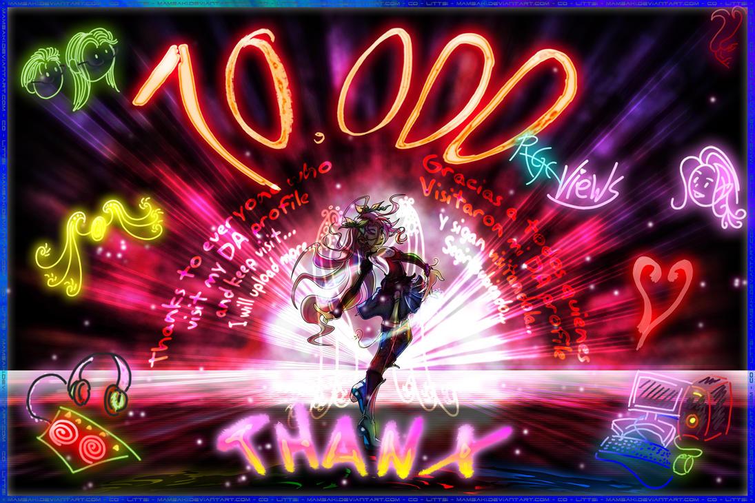 10,000 PageViews by MAMsaki