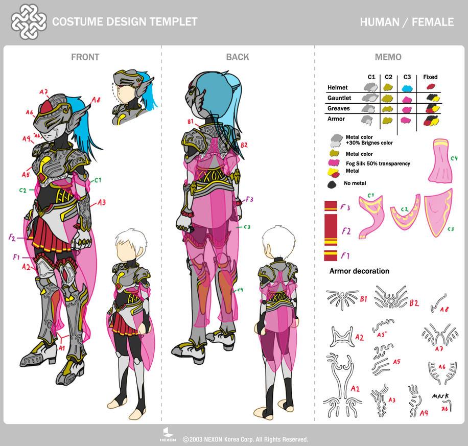 Vertex Armor F - Mabinogi Contest by MAMsaki