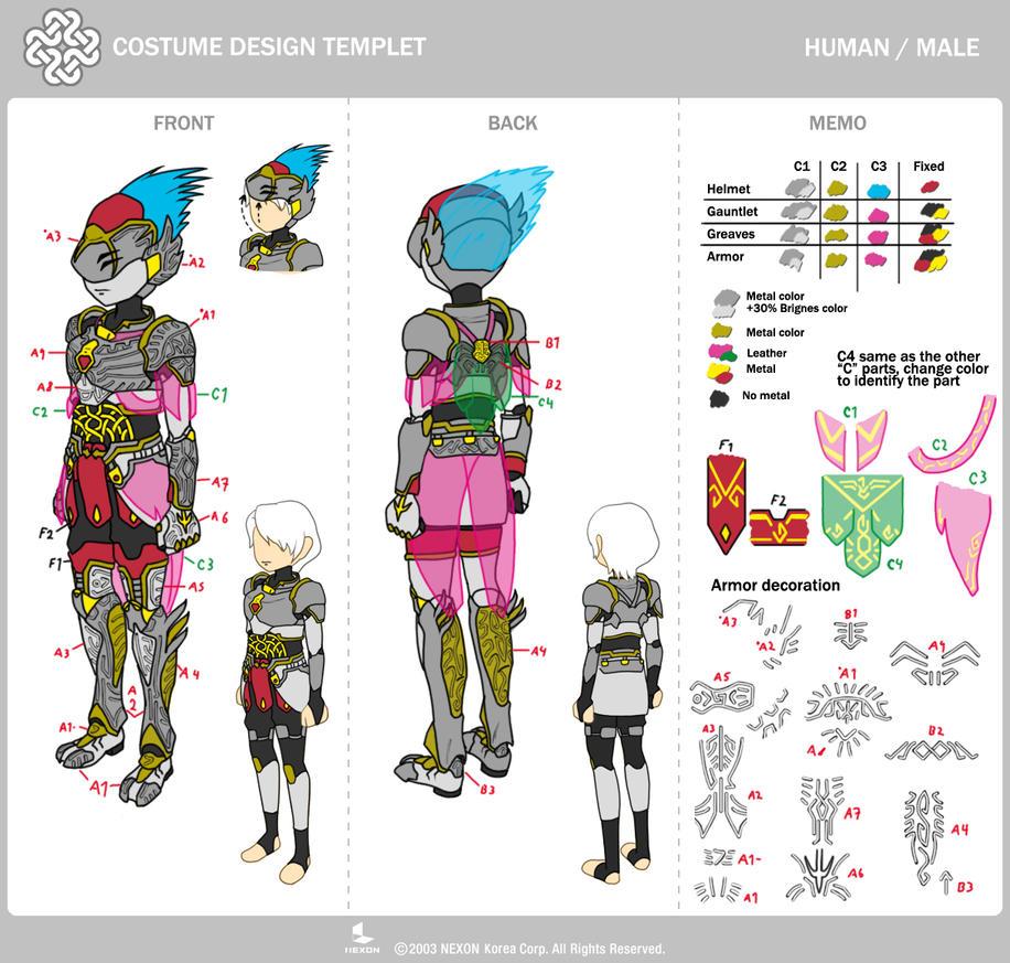 Vertex Armor M - Mabinogi Contest by MAMsaki