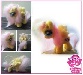Needle felted Fluttershy, My little pony
