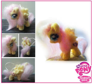 Needle felted Fluttershy, My little pony