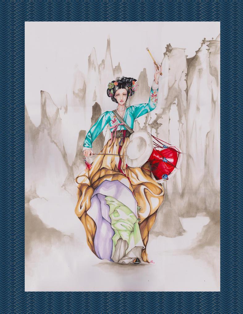 Gisaeng by Maihunaa